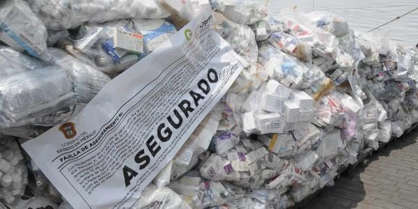 México | Una farmacia (ilegal) sobre ruedas