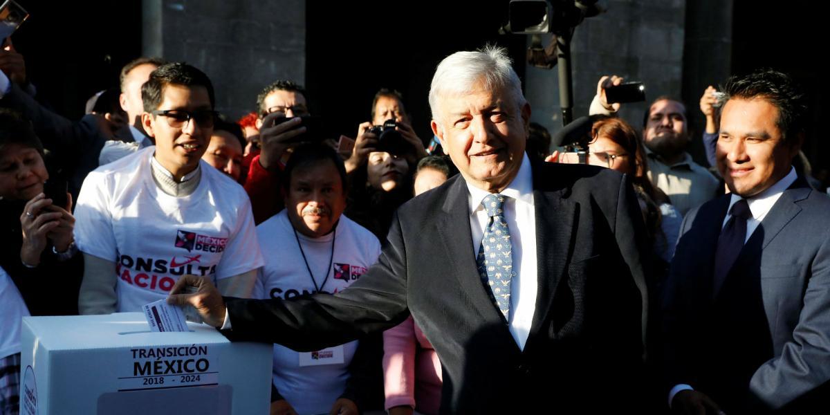 Cuestione   México   El día que AMLO votó... ¿por la democracia?