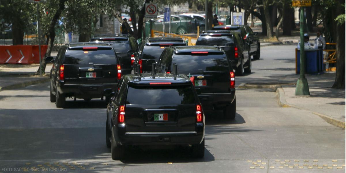 Cuestione   México   Adiós para siempre, Estado Mayor Presidencial