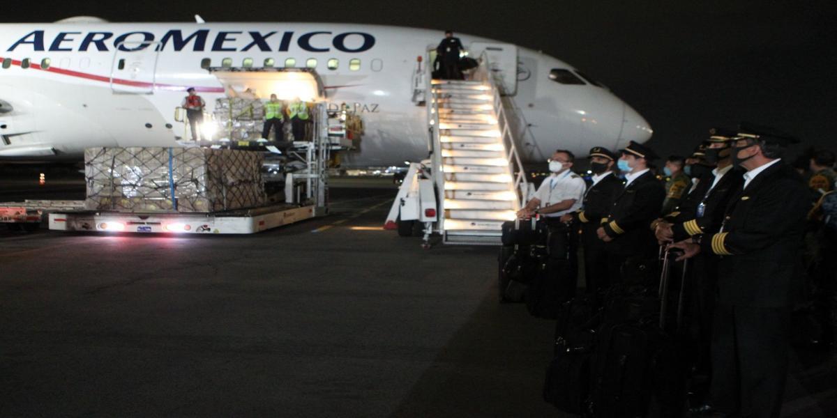 México | Aeroméxico se lleva contrato por más de 18 millones para traer insumos por COVID-19