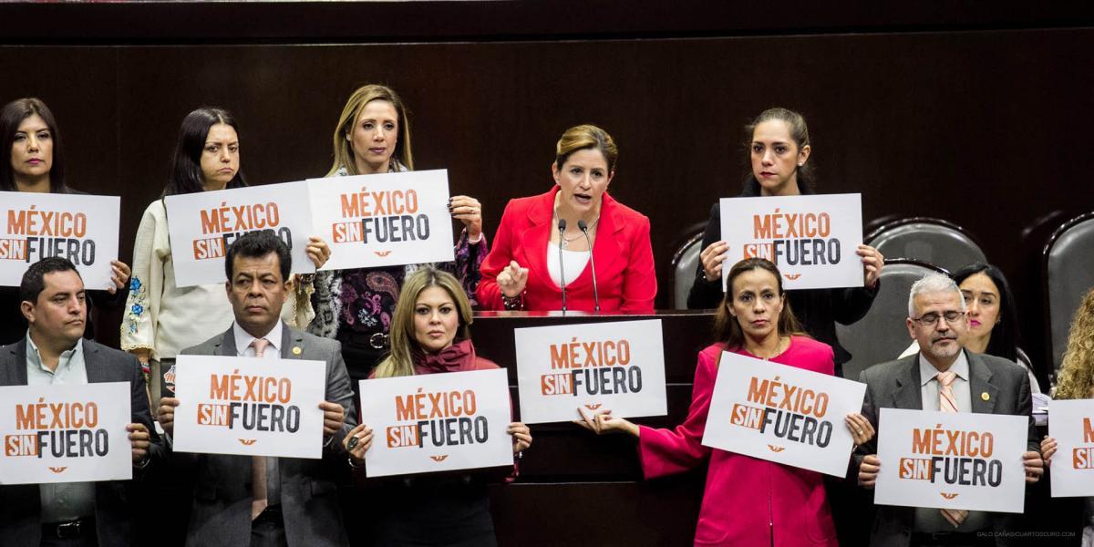 Cuestione   México   Morena no pudo quitar el fuero