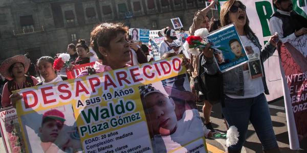 México | La diferencia entre desaparición y desaparición forzada