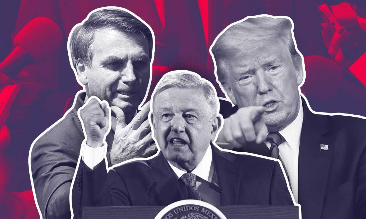 México | AMLO, Trump y Bolsonaro: enemigos de la prensa crítica