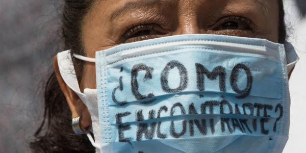 México | Ni el COVID-19 hizo que pararan colectivos que buscan a mujeres desaparecidas