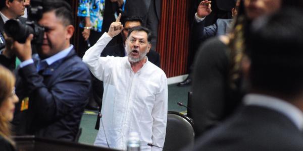 Cuestione   México   Noroña vs Muñoz Ledo: rabietas en sesión