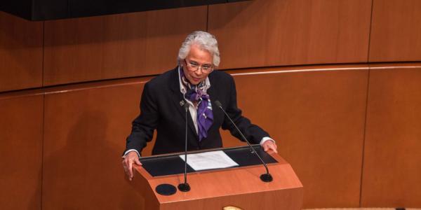 México | Olga Sánchez Cordero: crónica de una ausente secretaria de Gobernación
