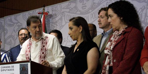 México | Otra vez Noroña… ahora insulta a diputada panista