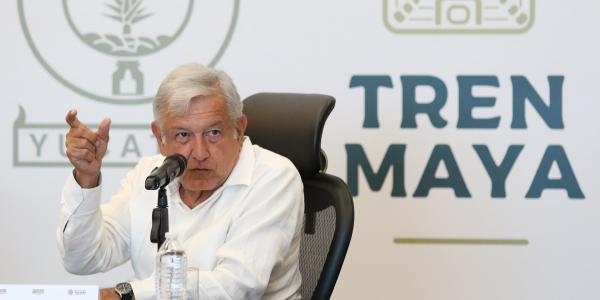 Cuestione   México   Pide AMLO a empresarios invertir en Tren maya