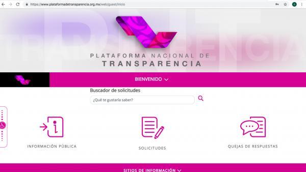 México | Plataforma del INAI: cara y con empresas relacionadas con la estafa maestra