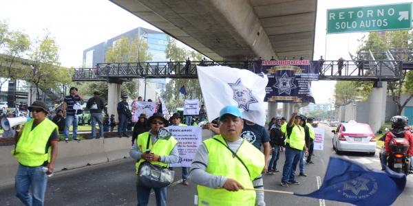 México | Protestas de policías, entre las causas justas y la ilegalidad