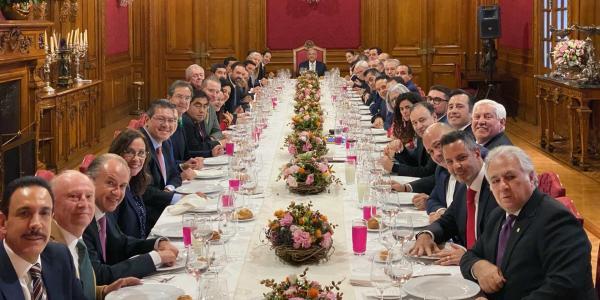 México | Presidencia no tiene idea de cuánto costó su comida con gobernadores