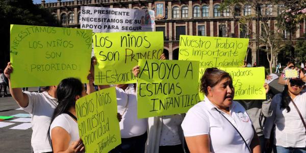 México | Recorte a estancias afecta más a las mujeres