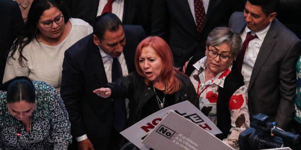 México | Rosario Piedra a la CNDH, la elección incómoda
