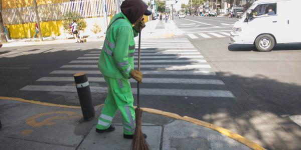 México | Trabajadores de limpia enfrentan el COVID-19 sin ningún apoyo