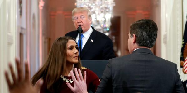 Cuestione   Global   El pleito de Trump con periodista de CNN