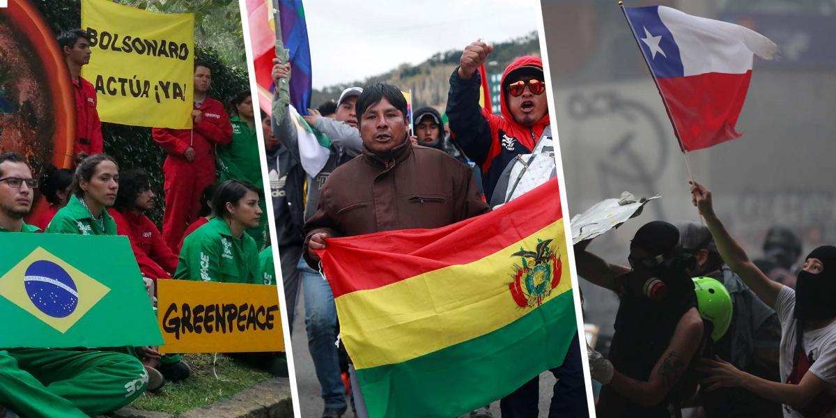 México | Crisis sociales y económicas, ¿quién es quién en el mapa político latinoamericano?