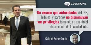 Columnas |  La muy cara democracia mexicana