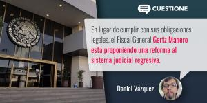 Columnas | Gertz Manero y la captura de la Fiscalía General de la República