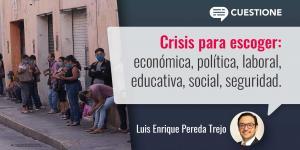 Columnas | La peor crisis es la que no se ve y hacia allá vamos