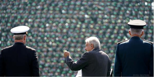 México | AMLO se reunió con miles de militares, ¿por?