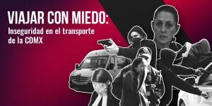 Tu Político | El terror de viajar en transporte público de la CDMX: robos se triplicaron en un año