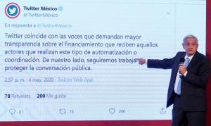 México | AMLO pone en riesgo la libertad de expresión al querer revisar Twitter y Facebook