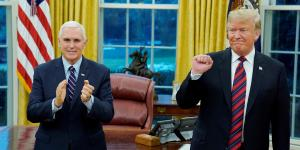 Global | Como cuando Pence se inspira en Luther King