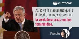 México | Crisis de imagen del presidente