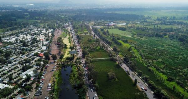 México | El puente vehicular de Sheinbaum que amenaza un Área Natural Protegida en Xochimilco