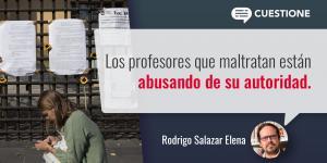 Columnas | Educación superior: exigencia y maltrato