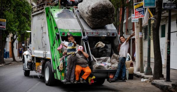 México | Así son quienes recogen tu basura