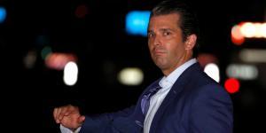 Global | El hijo de Trump hizo un Trump en redes