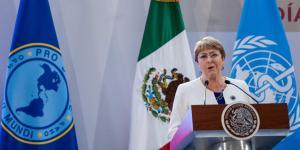 México | En México hay un vacío cuando se habla de prisión preventiva: Bachelet