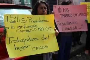 México | México deberá garantizar derechos plenos para trabajadoras del hogar