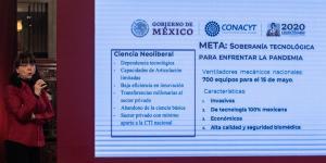 México | ¿Qué pasó con los ventiladores que la directora de Conacyt prometió para mayo?