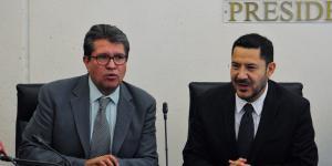 México | Ricardo Monreal, Martí Batres y su pleito por la presidencia del Senado