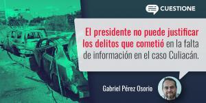 Columnas | Todos los delitos que cometió el gobierno en Culiacán