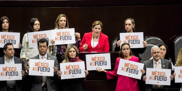 México | Morena no pudo quitar el fuero