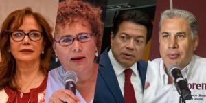 México | Yeidckol Polevnsky busca permanecer al frente de Morena: tres quieren desbancarla