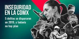 Tu Político | Los datos no mienten, urge programa de seguridad en CDMX
