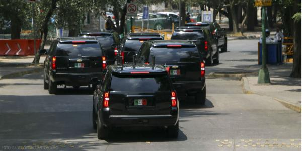 México | Adiós para siempre, Estado Mayor Presidencial