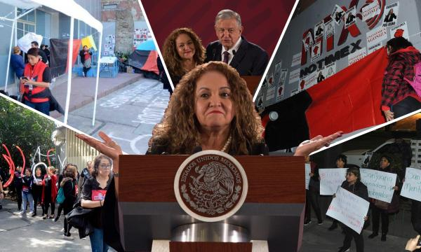 México | Sanjuana Martínez: 14 meses de escándalos y acusaciones