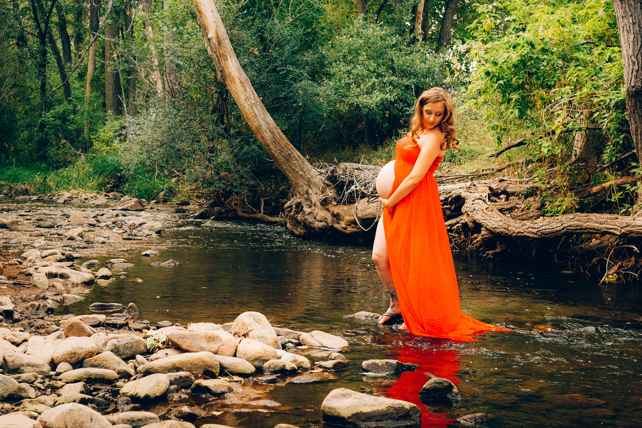 Lakewood Colorado Maternity Photography in Nature