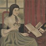 Fine Art Auction Highlights | Folk Art Portrait