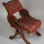 Victorian Furniture | Ebonized Mahogany Chair