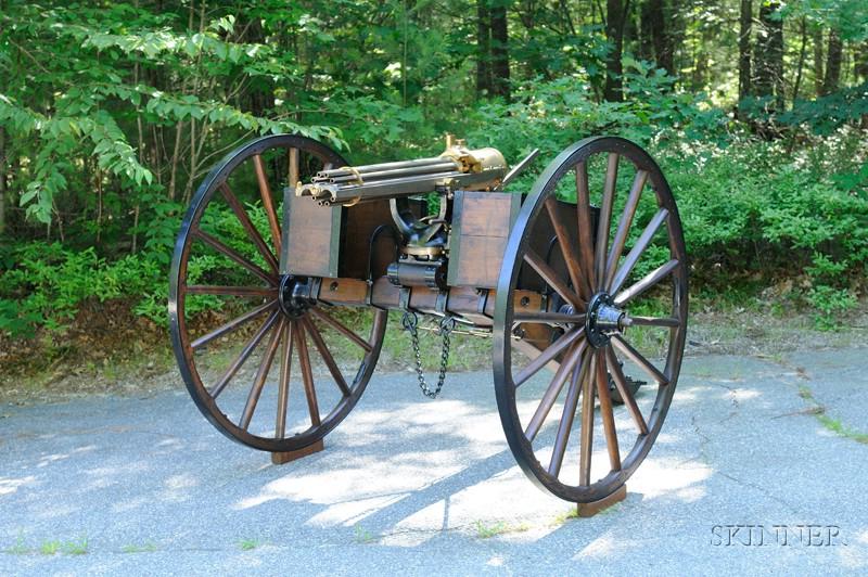Colt Model 1881 Gatling Gun, Hartford, Connecticut (Sold for $250,000)