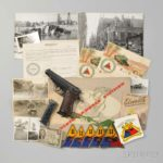 Walther PP with Bring Back Papers and Other Memorabilia (Sold for Sold for: $1,353)