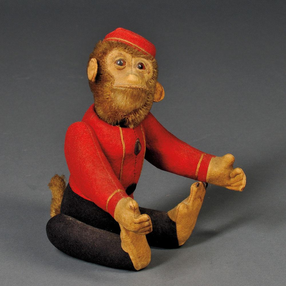 Vintage Schuco Yes/No Bellhop Monkey (Lot 50, Estimate $200-$300)