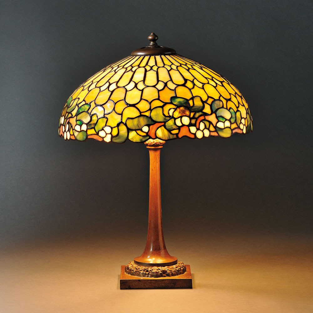Mosaic Glass Table Lamp Attributed to Duffner & Kimberly, New York, early 20th century (Lot 30, Estimate $2,500-$3,500)