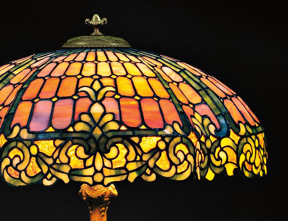 Mosaic Glass Table Lamp ...